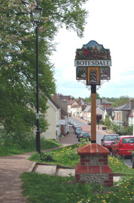 Image of Botesdale Village Sign